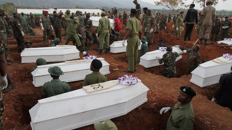 Image result for morogoro fire victims mass grave