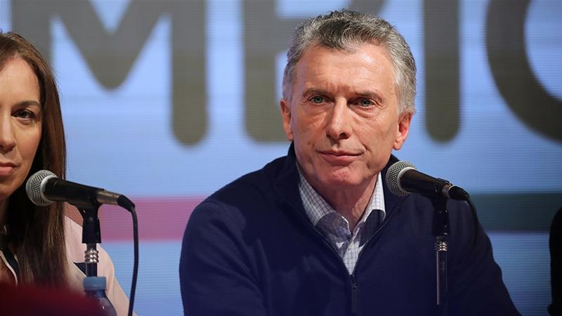 Argentina's Macri faces setback as Fernandez sees primary win