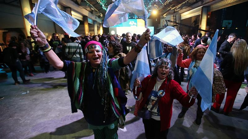 Argentine president's ruling party shocked by defeat in primary elections