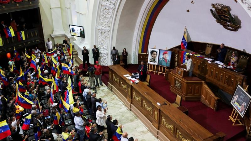 Guaido had warned that Maduro was launching a 'mass pursuit' of anti-government legislators [Manaure Quintero/Reuters]