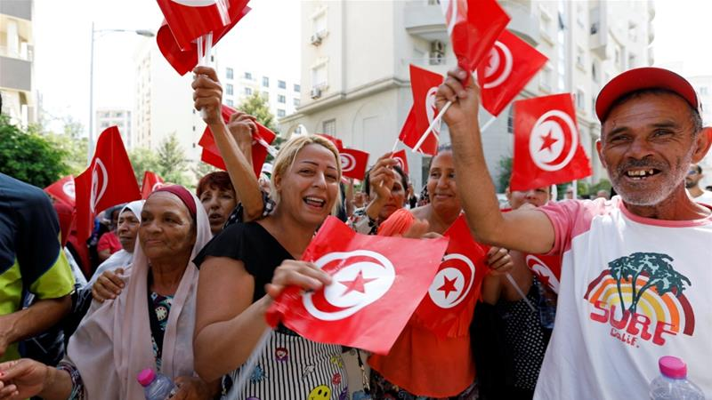 Tunisia was the spark for the Arab Spring revolts that toppled a number of authoritarian governments around North Africa and the Middle East [File: Zoubeir Souissi/Reuters]