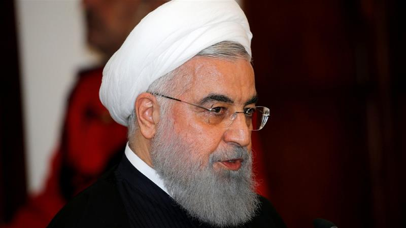 Iranian President Hassan Rouhani said the Gulf countries could handle their own security [File: Thaier al-Sudani/Reuters]