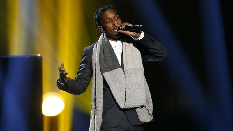 A$AP Rocky performs during the 42nd American Music Awards in 2014 [File: Mario Anzuoni/Reuters]