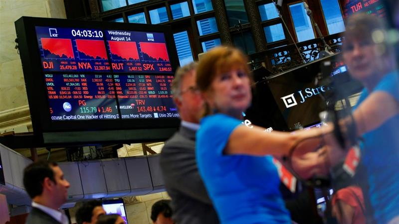 US markets plummet in their worst day of 2019