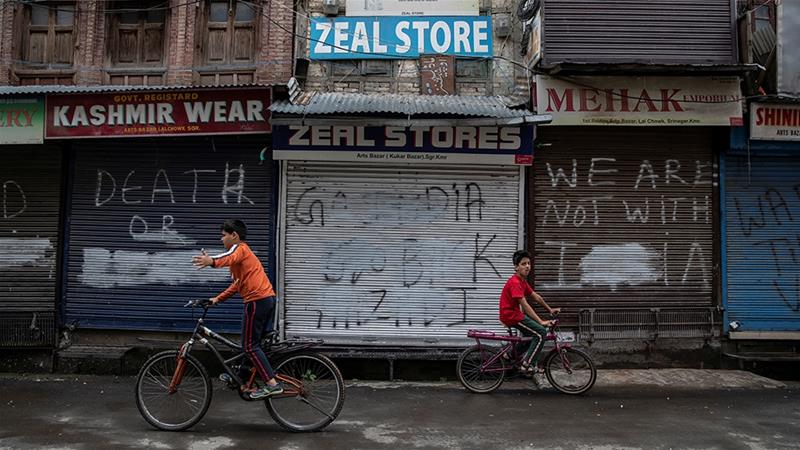 India's Kashmir clampdown slightly eases, but many remain concerned