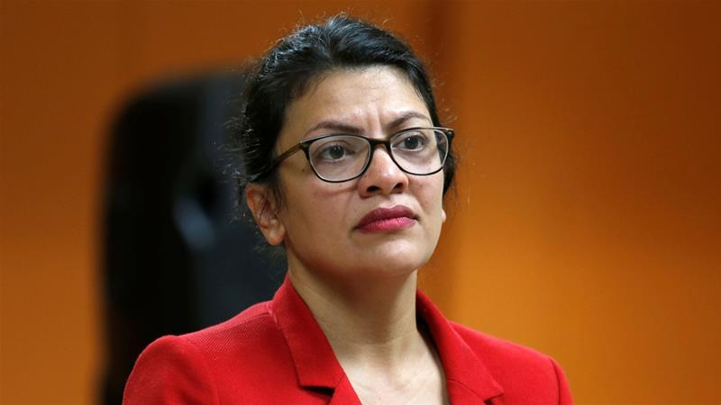 US Congresswoman Rashida Tlaib said she will no longer visit the occupied West Bank [File:Rebecca Cook/Reuters]
