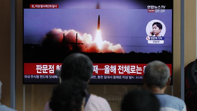 S Korea Says N Korea Has Fired More Projectiles Into Sea