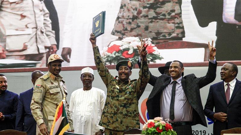 General al-Burhan sworn in as head of Sudan's new ruling body