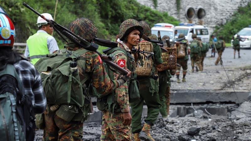 Ambulance driver killed in Myanmar as army battles rebels | News | Al  Jazeera