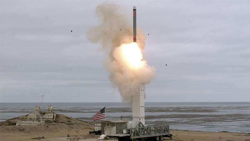 US  military tests ground-based cruise missile