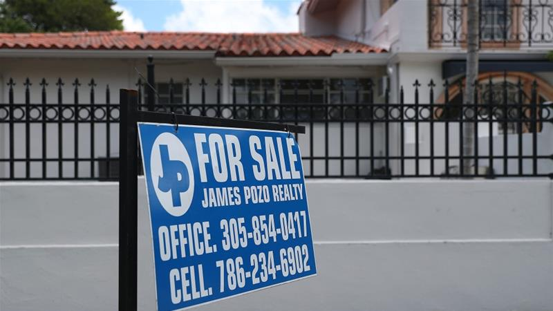 Though existing home sales are trending upwards, there are still concerns that supply is not meeting housing demand [Joe Raedle/Getty Images/AFP]