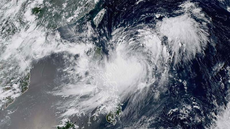 Tropical Storm Bailu formed to the east of the Philippines on Wednesday and will continue to move north towards Taiwan [CIRA RAMMB]