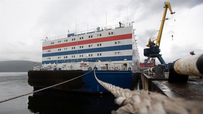 Russia launches floating nuclear power plant Akademik Lomonosov