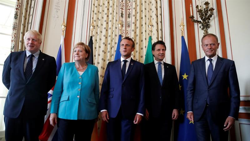 World leaders gather for G7 summit in France