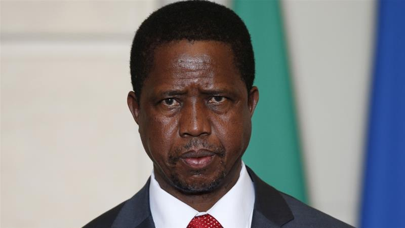 Zambian opposition leader arrested, accused of defaming president