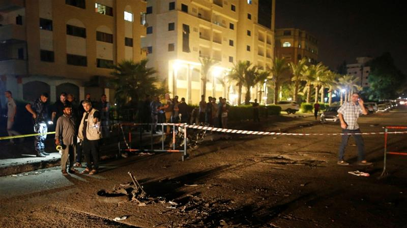 Gaza in state of alert after blasts kill 3 Hamas policemen