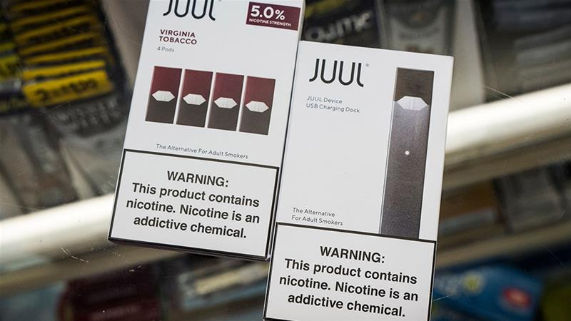 San Francisco, where popular e-cigarette maker Juul Labs Inc was founded, made it illegal to sell nicotine vaporiser products in June [File: David Paul Morris/Bloomberg]