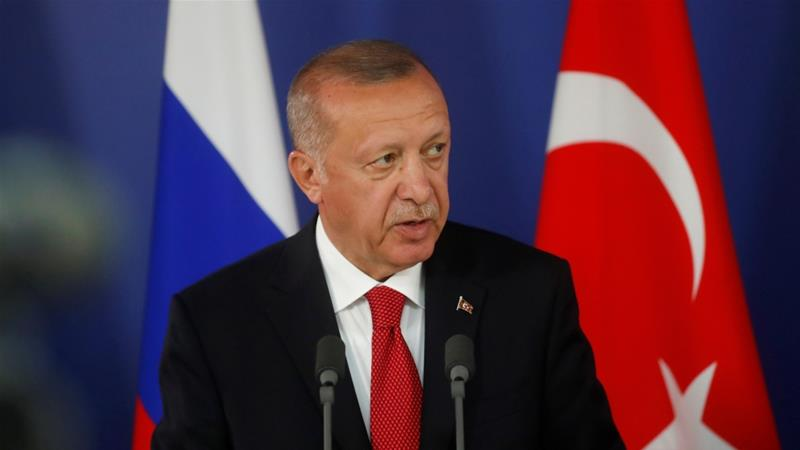 In his remarks on Saturday, Erdogan did not say what the operation plan would entail [File: Maxim Shipenkov/Reuters]