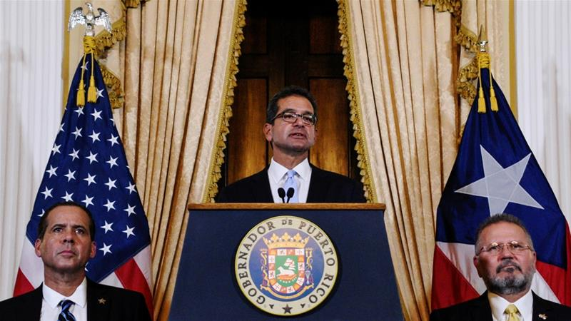 Pierluisi has acknowledged that his term 'could be very short-lived' [Gabriella N Baez/Reuters]