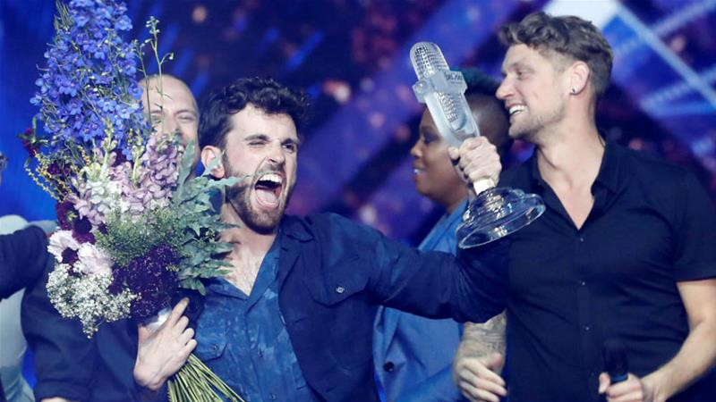 Eurovision 2020: Duncan Laurence's reaction to Rotterdam's victory