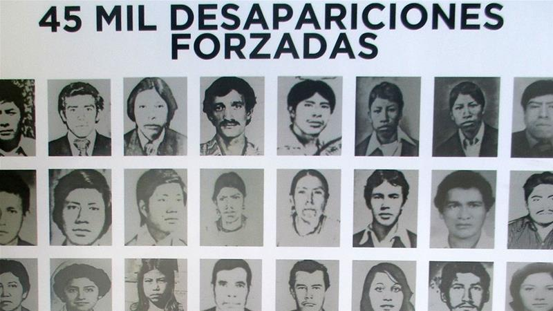 An estimated 45,000 Guatemalans were disappeared during the 36-year civil war [Sandra Cuffe/Al Jazeera]