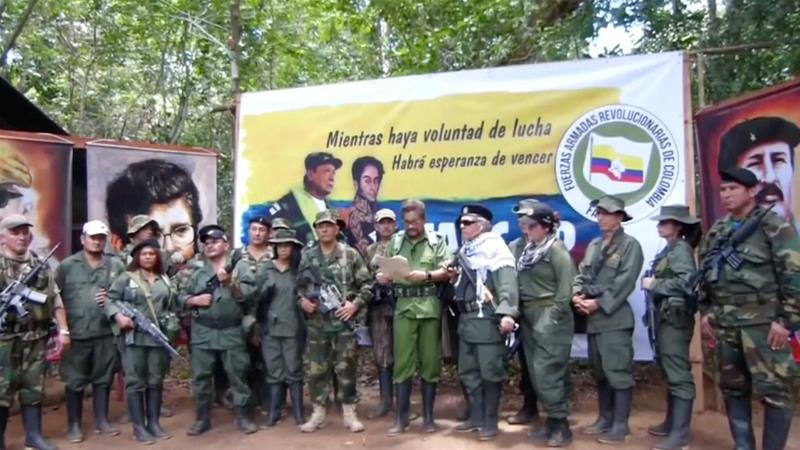 Colombia's ex-FARC rebel leaders announce to take up arms again