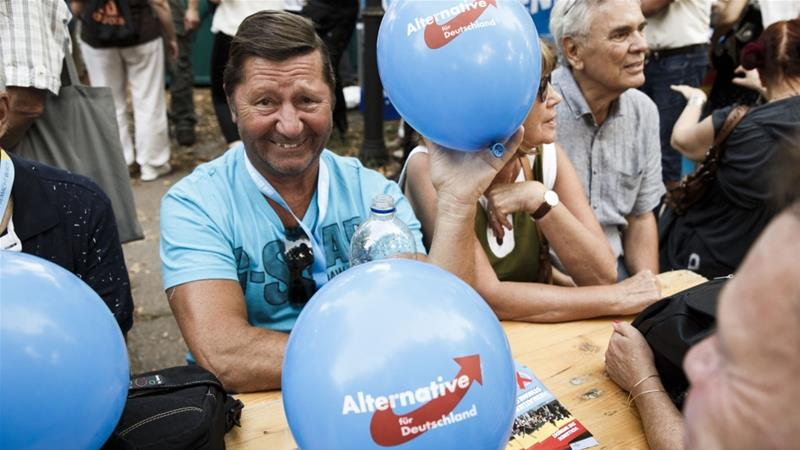 Anti-immigration AfD has polled strongly in two eastern states of Germany, its electoral heartland [Getty Images]