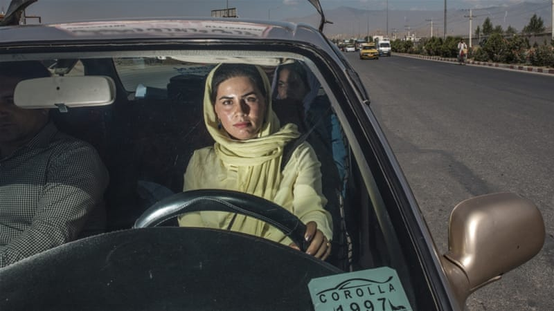 Kabul: 'I want to break the tradition that women can't drive'
