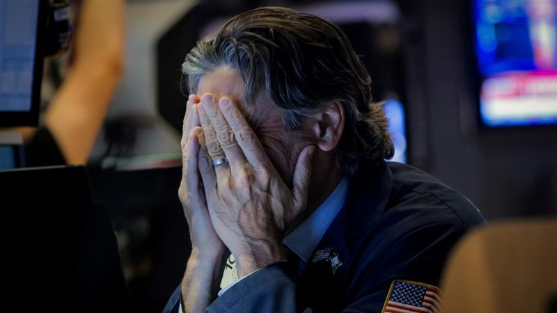 The S&P 500 lost 87 points to notch its biggest one-day drop since December 4 [Brendan McDermid/Reuters]
