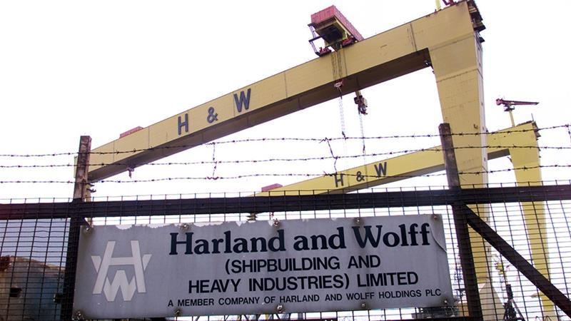 Northern Ireland's 158-year-old Harland and Wolff shipyard was put up for sale by its financially struggling Norwegian owner last year [File/Reuters]