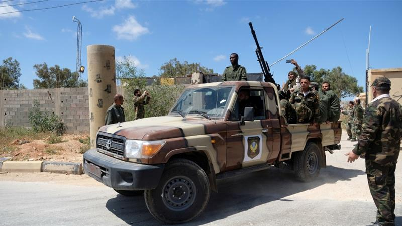 Eastern Libya force strikes Misrata air college - source, witness