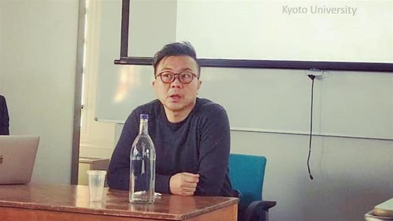 Thai dissident teaches at the Center for Southeast Asian Studies, Kyoto University [Pavin Chachavalpongpun/Facebook page]