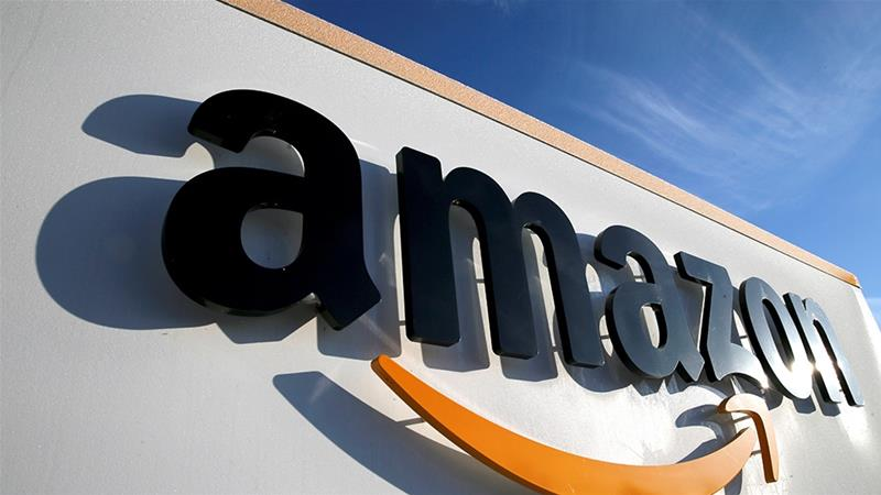 Amazon has said the evaluation process that chose its rival Microsoft for a lucrative US military cloud computing deal was deficient [File: Pascal Rossignol/Reuters]