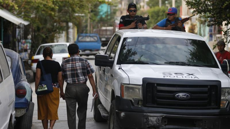 Mexico registered over 14,000 homicides from January to June this year [File: Rebecca Blackwell/AP]
