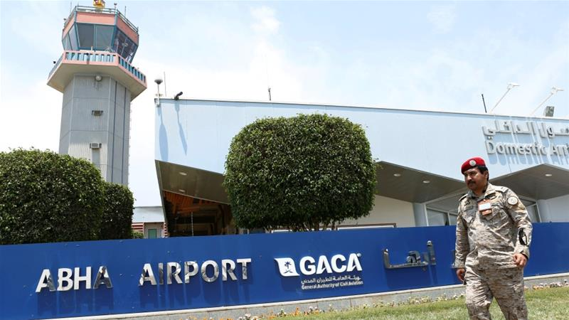 Saudi Arabia's Abha airport has been repeatedly targeted by Yemen's Houthi rebel group [File: Faisal al-Nasser/Reuters]