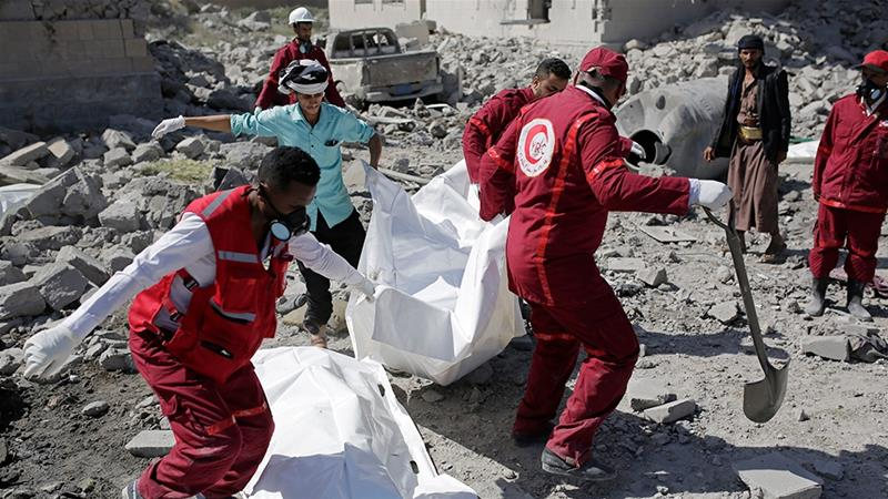 Saudi-led coalition says launched air strikes against Huthi target