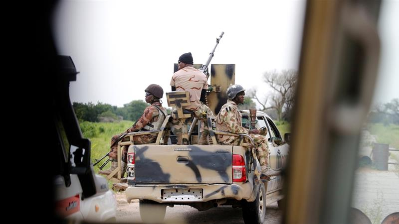 In a report Human Rights Watch said Nigerian armed forces held more than 3,600 children between January 2013 and March 2019 [File: Afolabi Sotunde/Reuters]