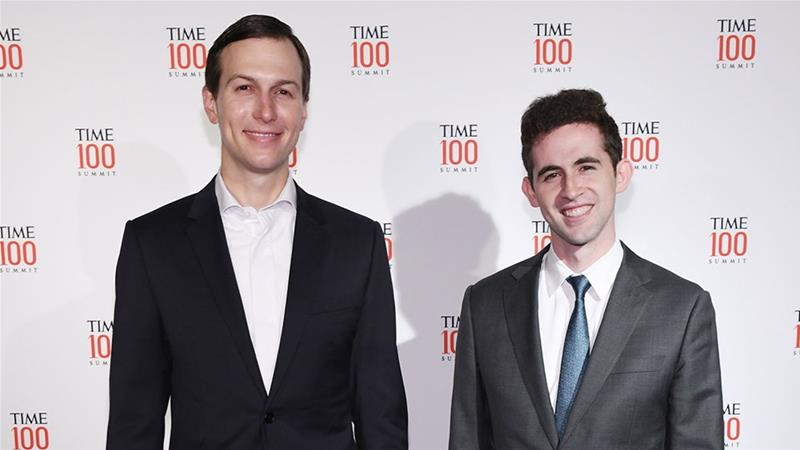 Jared Kushner and Avi Berkowitz attend the TIME 100 Summit 2019  in New York City [File: Craig Barritt/Getty Images for TIME]
