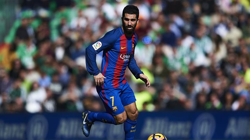 Arda Turan: Barcelona midfielder given suspended sentence for firing gun