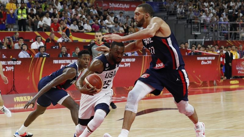 France shock defending champions US in Basketball World Cup