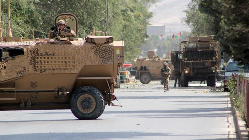 Two Taliban car bombs shook Kabul last week, killing several civilians and two members of the NATO mission [File: Anadolu]