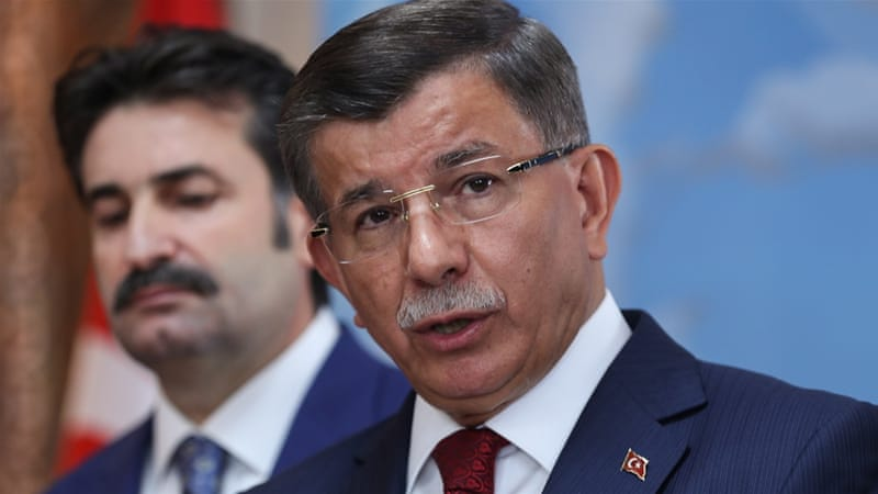 Turkey's former PM Davutoglu resigns from ruling AK Party