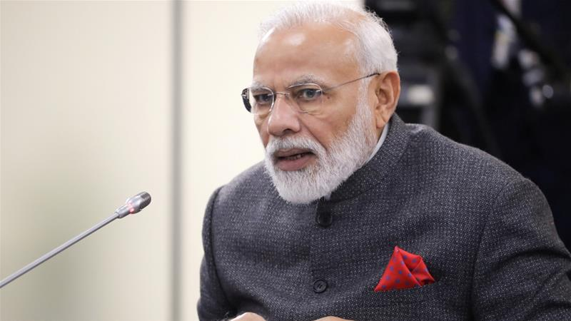Modi has been accused of pursuing exclusionary policies against minorities in India as part of his far-right agenda [File: Reuters]