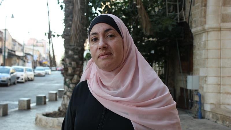 Kholoud Zibidi says she will vote for the Arab Joint List in order to be represented in the Knesset [Arwa Ibrahim/ Al Jazeera]