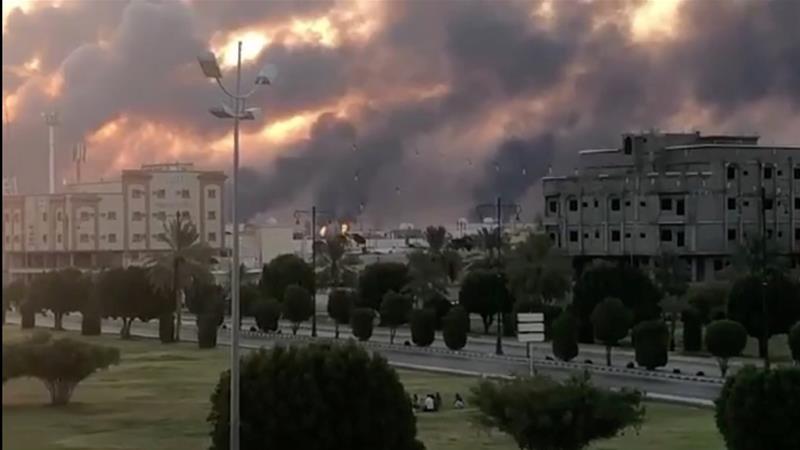 Drone attacks on 2 Saudi Aramco oil facilities spark fires