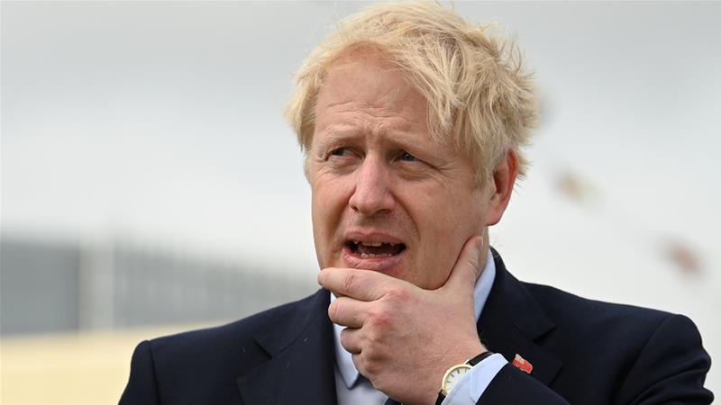 Boris Johnson and his ruling Conservative Party face mounting allegations of Islamophobia [File: Daniel Leal-Olivas/Pool via Reuters]