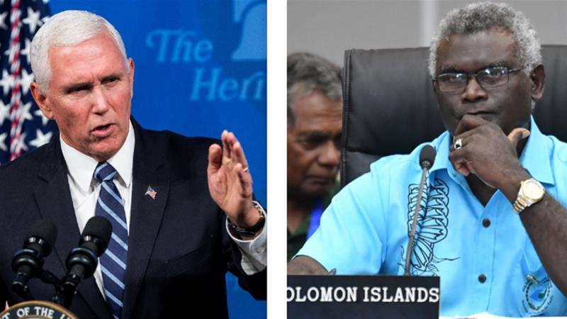 U.S. reassessing aid to Solomon Islands after Taiwan ties cut