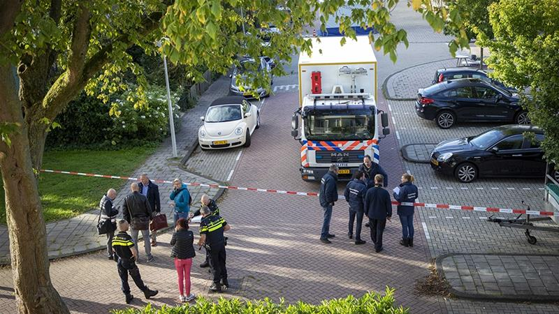 The killing of Wiersum sent shockwaves in the Netherlands [Michel van Bergen/EPA-EFE]