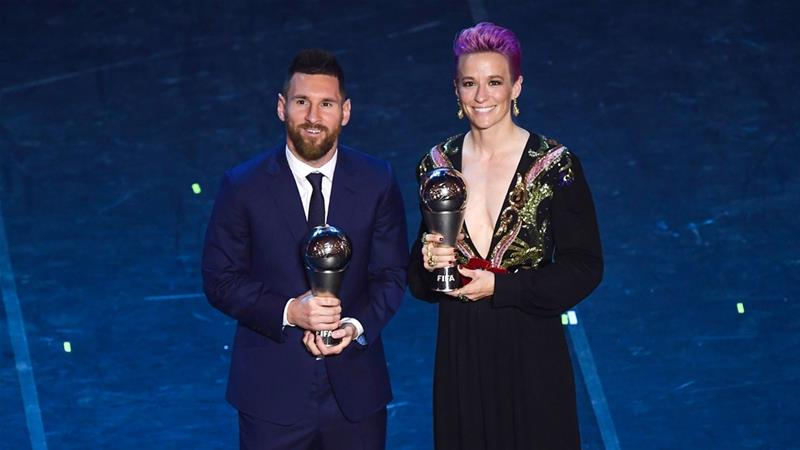 Messi snubbed as Arnold, Milligan reveal FIFA Best votes
