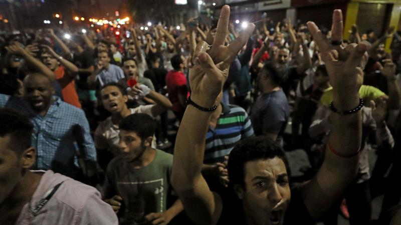 Egypt detains more than 1000 after protests against President Sisi: NGOs